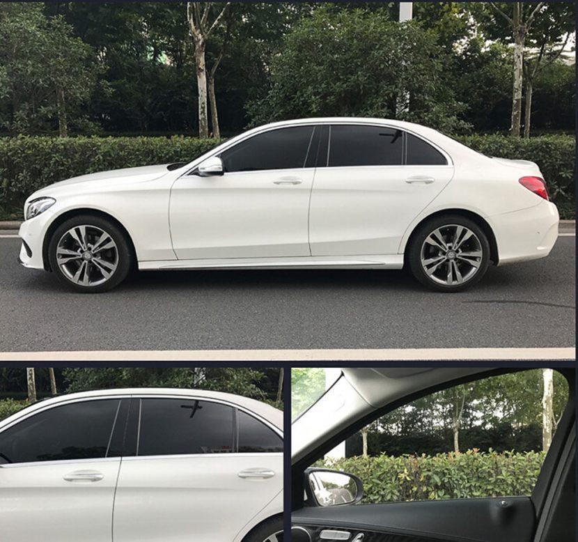 Tinted Car-Windows