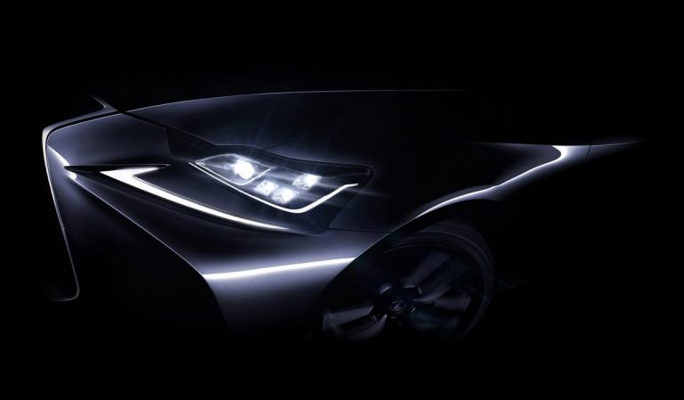 Lexus will introduce an updated