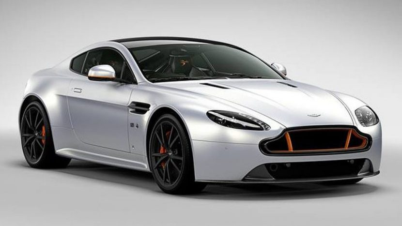 The Aston Martin V8 Vantage S Blades Edition comes with seat time in an aerobatic flight stunt